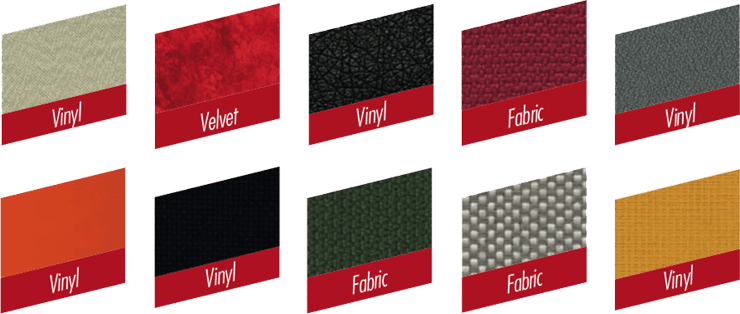 Example fabric finishes