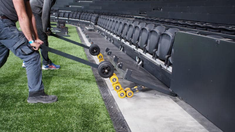 u arena seating system
