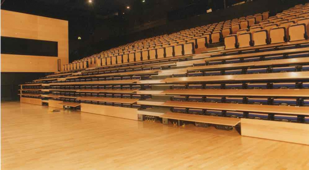 Telescopic Bleacher Seating