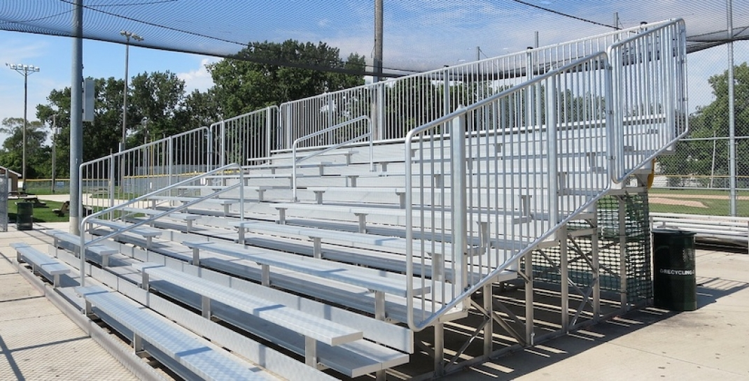 Retractable Bleachers - Form and Function Combined