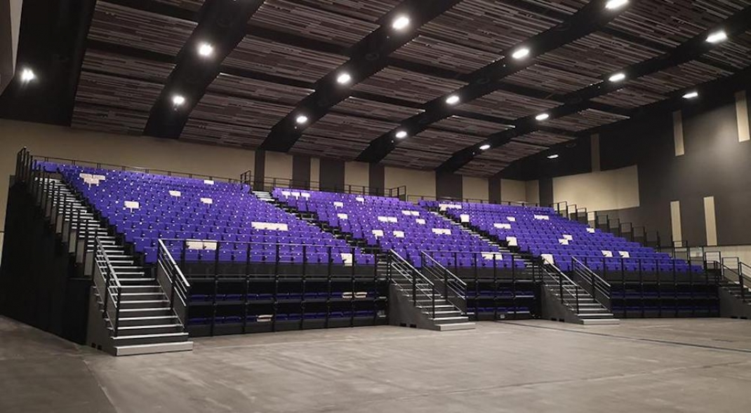 Retractable Seating Provides Flexibility For Reopening